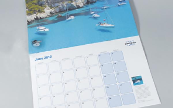 Arrow Print Calendars