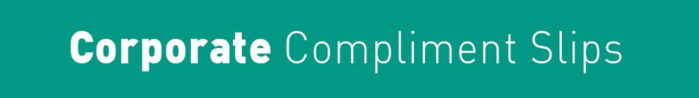 Arrow Print Corporate Comp Slips Title