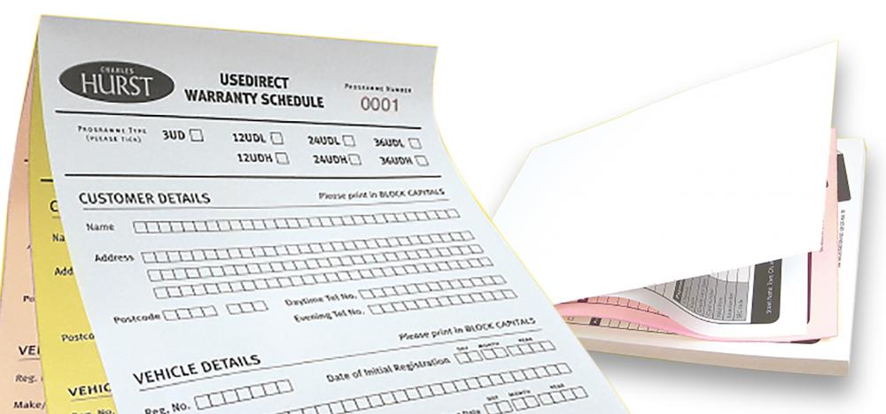 Arrow Print ncr forms