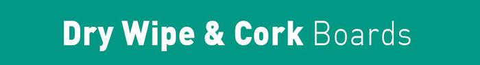 Arrow Print Dry Wipe & Cork Board title