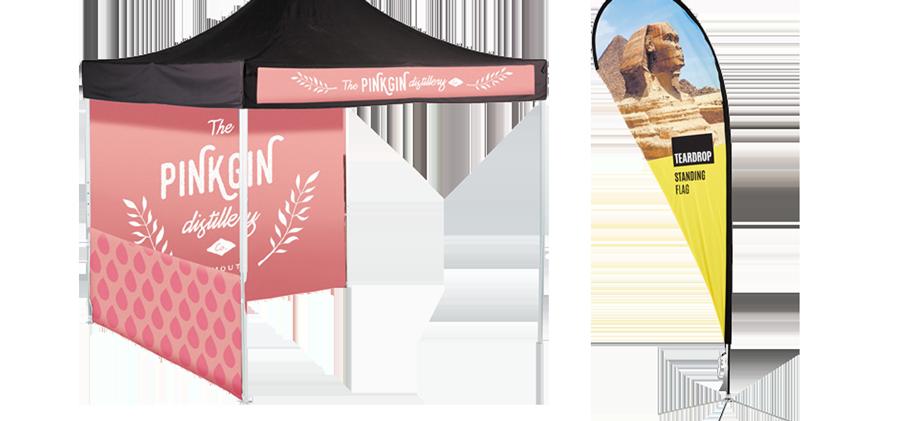Arrow Print Flags & Banners