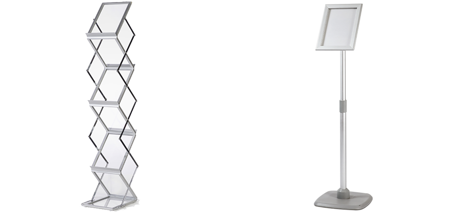Arrow Print Freestanding Frames