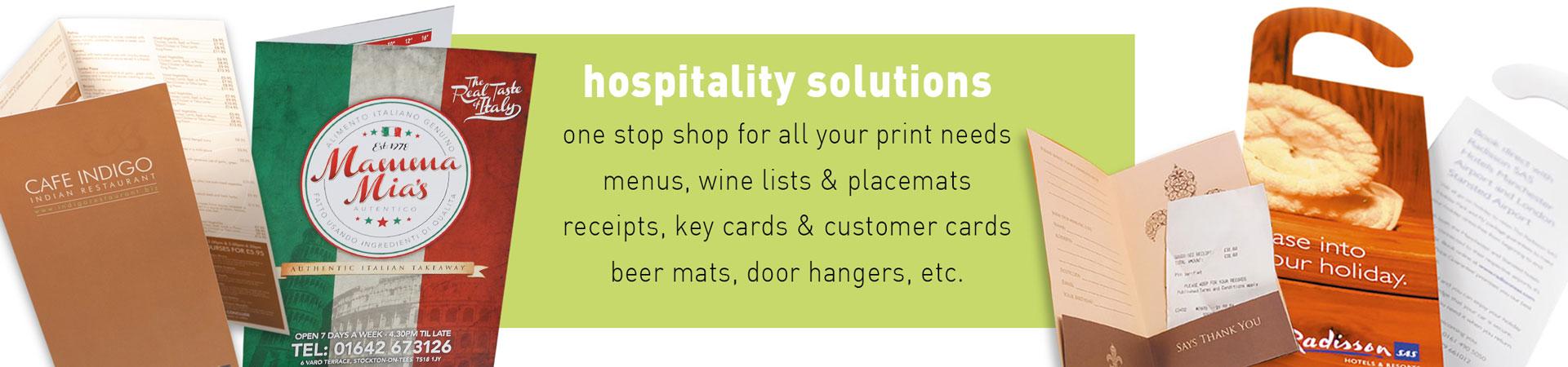 Arrow Print Hospitality Slider