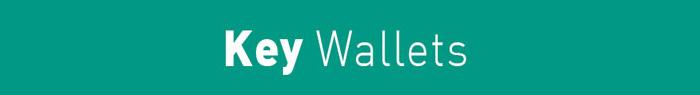 Arrow Print Key Wallet title