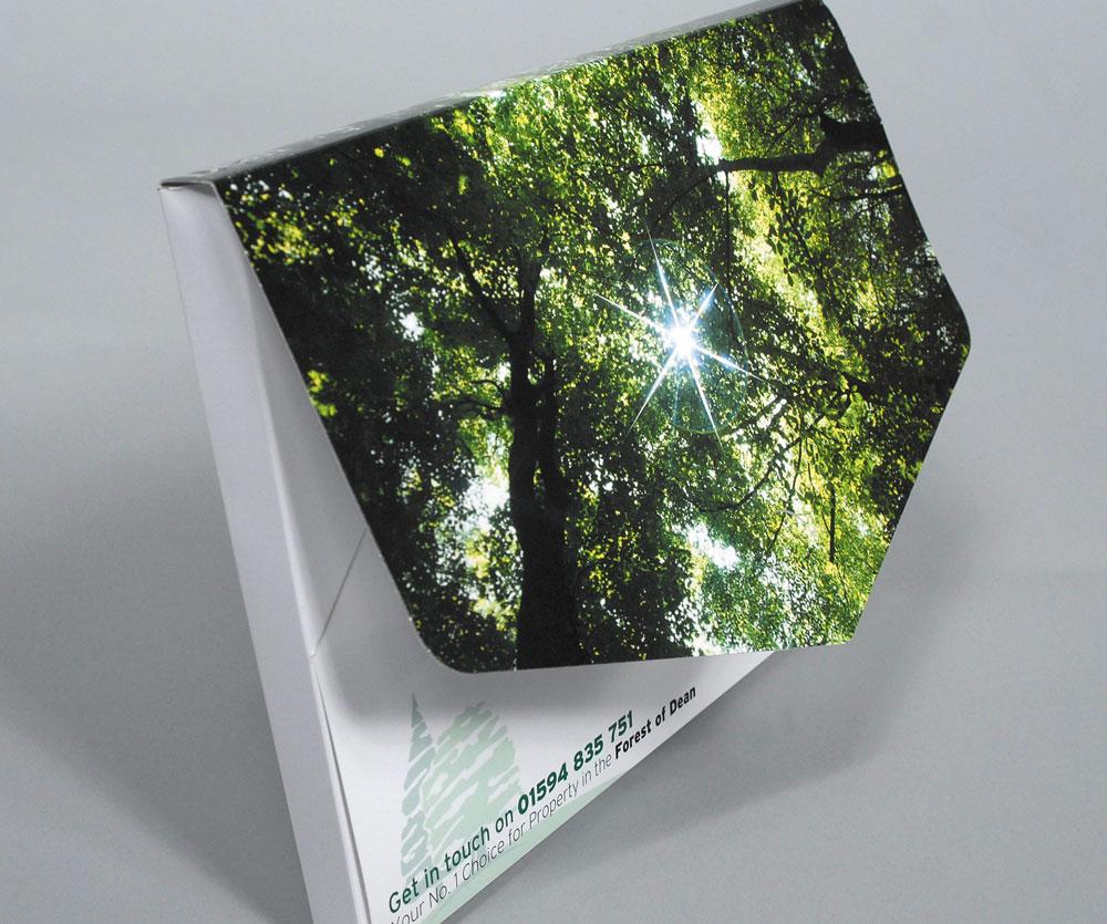 Arrow Print Folders