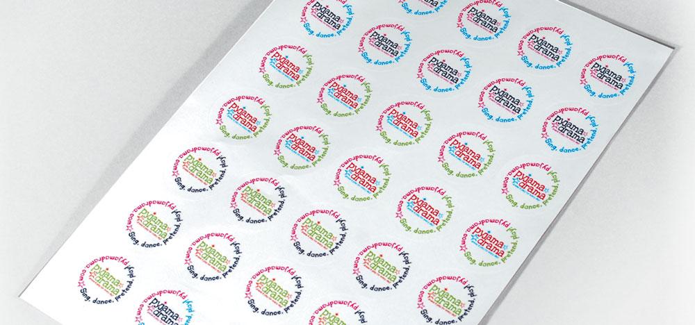 Arrow Print Kiss Cut Stickers