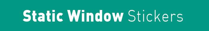 Arrow Print Static Window Sticker title